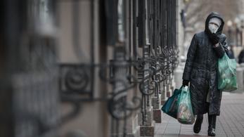 Negatív rekordokat dönt a koronavírus Oroszországban