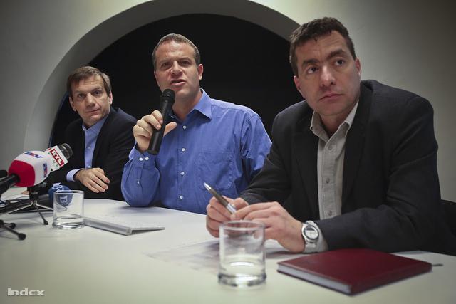 Bajnai Gordon, Juhász Péter és Kónya Péter