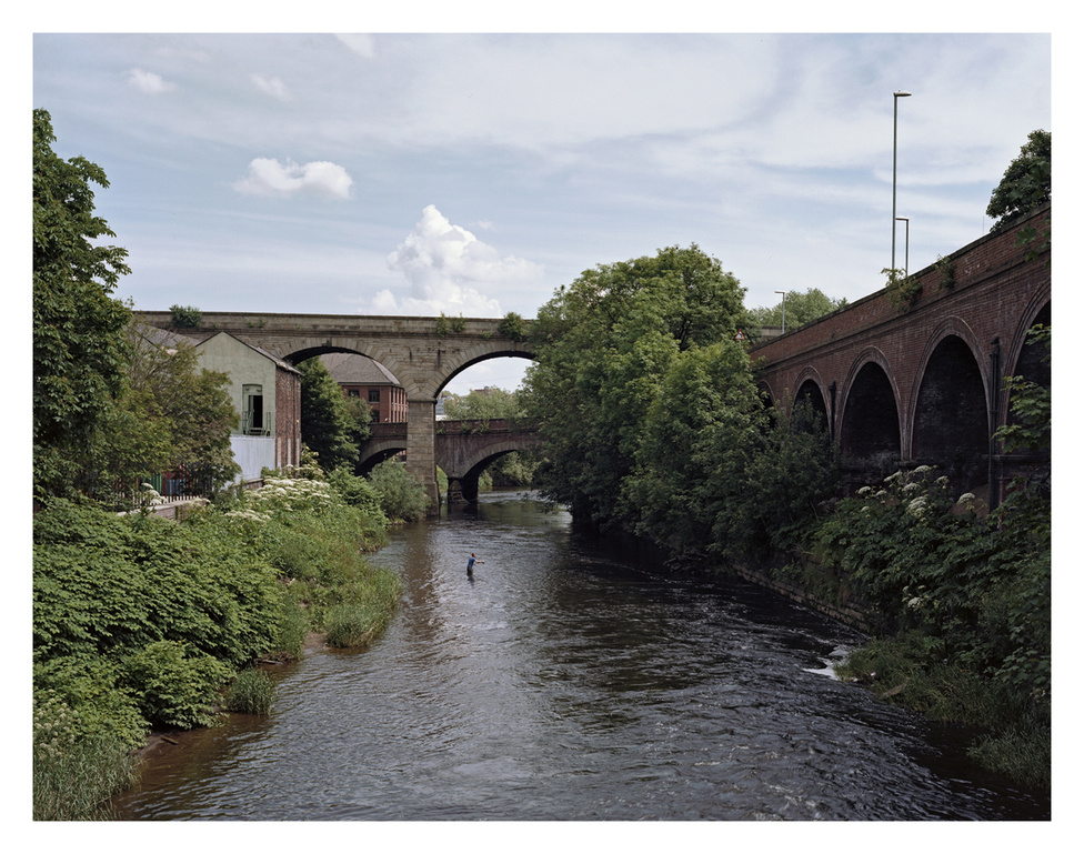 Viaduct Rd, Leeds, Anglia.                         Leeds-Liverpool kanális.