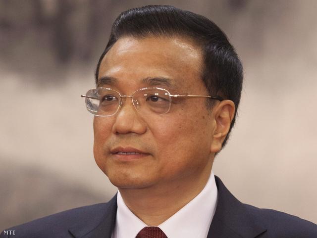 Li Ko-csiang miniszterelnök-helyettes