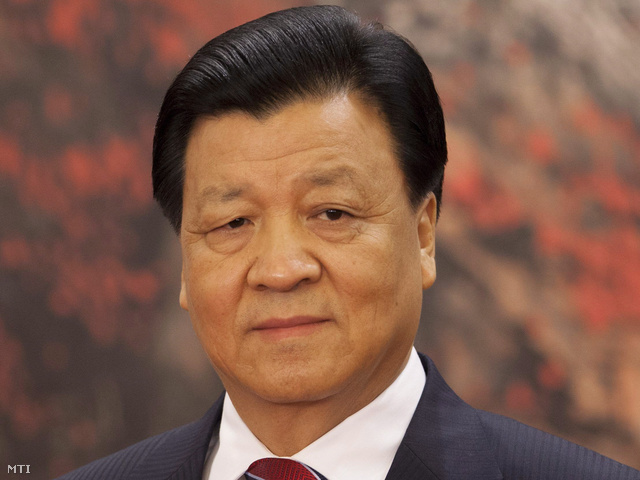 Liu Jün-san a párt propagandaosztályának vezetője