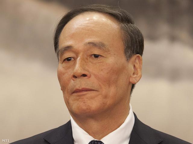Vang Csi-san miniszterelnök-helyettes