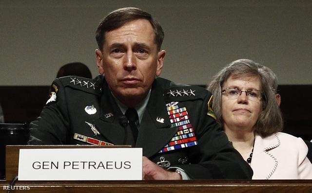 David Petraeus és felesége, Holly