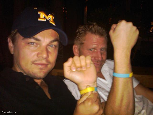 Leonardo DiCaprio és Dash Mihok