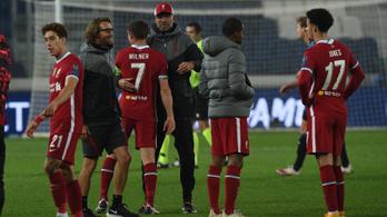 Öt gólt szerző csapata védekezését méltatta Jürgen Klopp