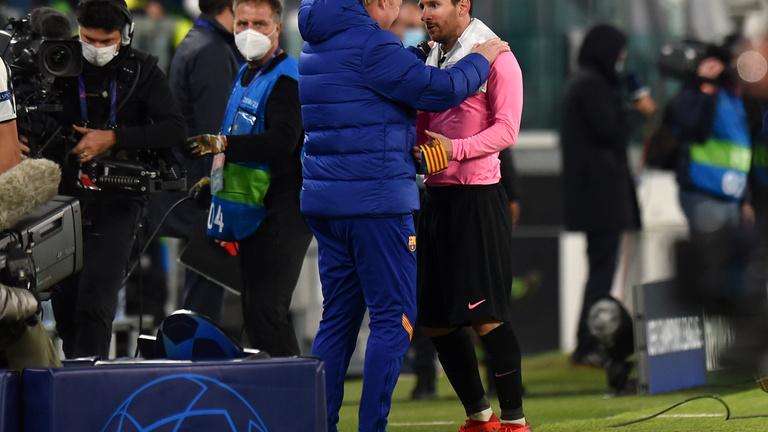 Ronald Koeman megvédte Messit