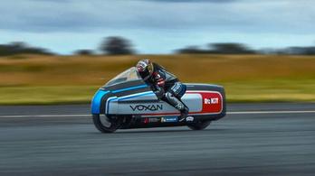 Biaggi és a Voxan megdöntötték az elektromos sebességrekordot