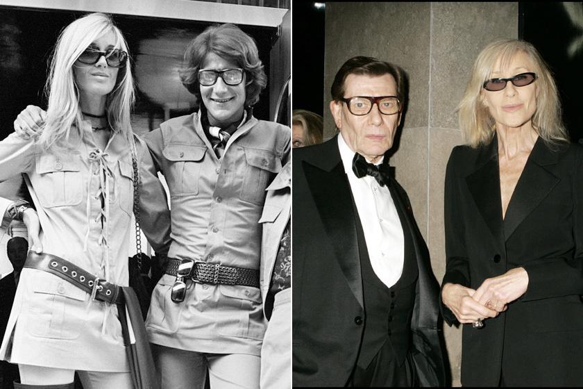 Yves Saint Laurent 1967-ben egy klubban találkozott Betty Catroux-val, aki első látásra elvarázsolta annak ellenére, hogy más volt, mint a legtöbb modell, és nem felelt meg az akkori ideálnak. Kissé androgün külseje lenyűgözte a férfit, és olyan darabokat ihletett, mint a szafari, a ballonkabát vagy éppen a női szmoking. A tervező haláláig barátok voltak.