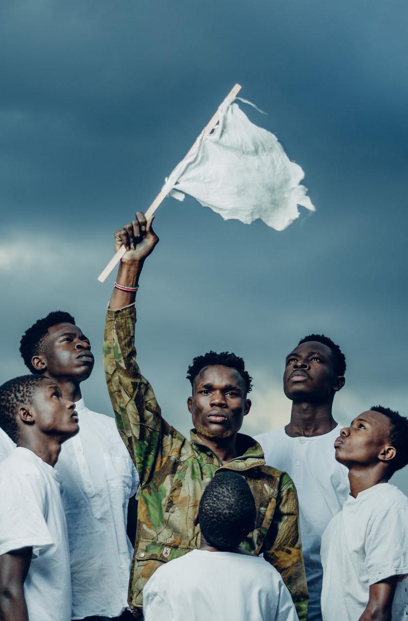 A győztes fotó: A békés világ gyümölcsöző - Nairobi, Kenya