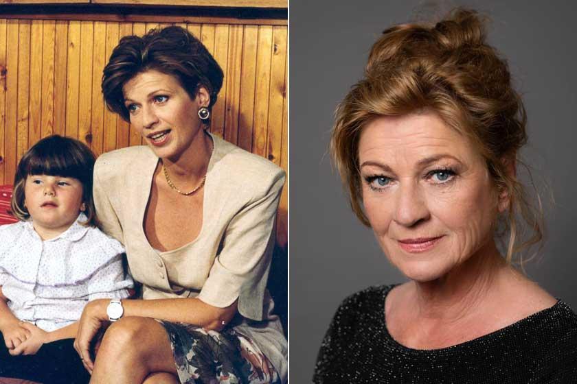 A 65 éves Frajt Edit alakította Mágenheim Júlia kozmetikust. Sorozatbeli kisebbik gyereke, Flóra az igazi kislánya volt. Franciska ma már 31 éves, felnőtt nő, aki történelem–régészet szakon diplomázott.