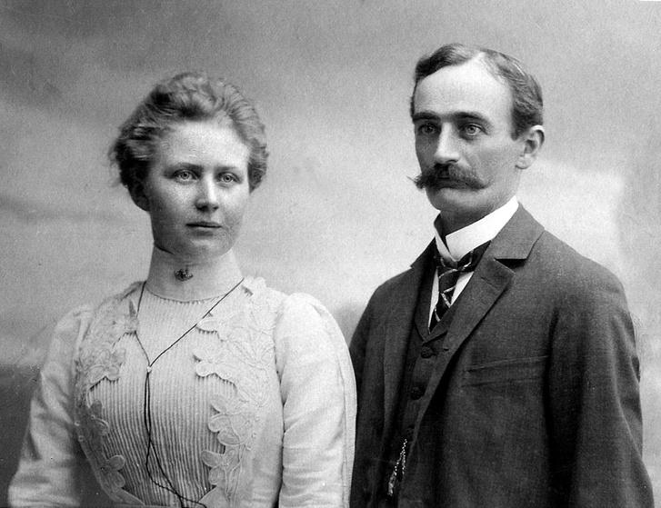 Elisabeth és Friedrich Trump 1902-ben.