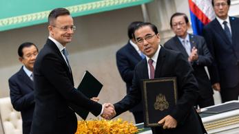 Nem kapták el a koronavírust Szijjártó Péter kambodzsai tárgyalópartnerei