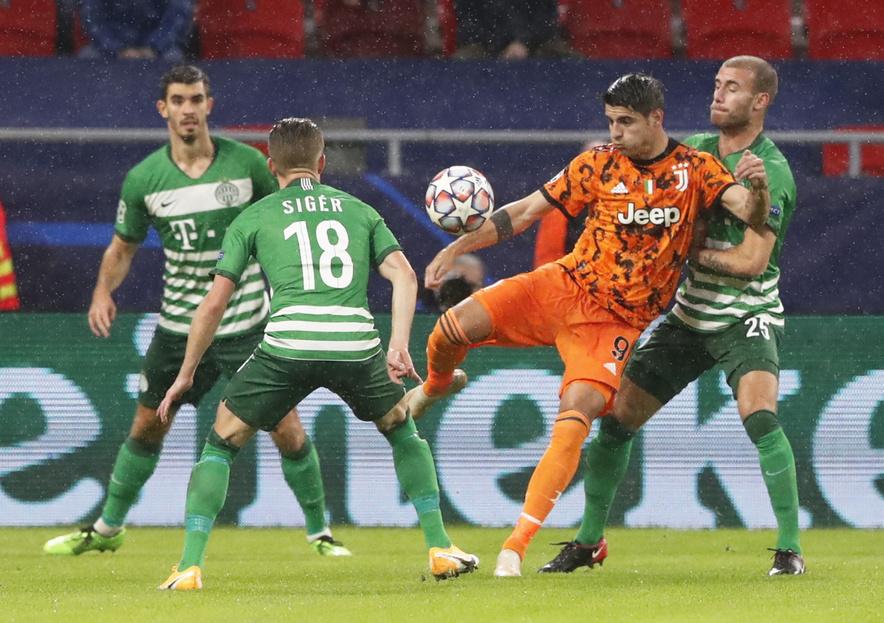 Index - Futball - Bajnokok Ligája - Sokba kerültek a védelmi hibák, a  Juventus lelépte az FTC-t