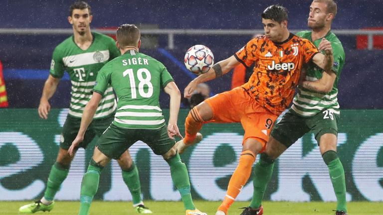 Bajnokok Ligája: Ferencváros – Juventus