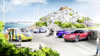 A VW villanyautó-paradicsomot csinálhat egy görög szigetből