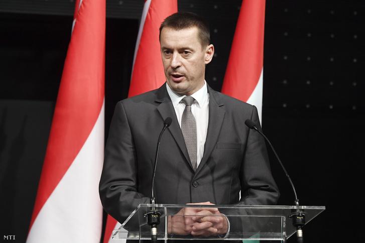 Sneider Tamás 2019-ben, akkor még a Jobbik elnökeként