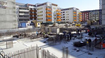 Sokkal több új lakás épült idén, mint egy éve