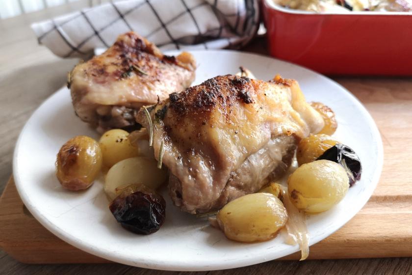 szőlős csirke recept2 ok