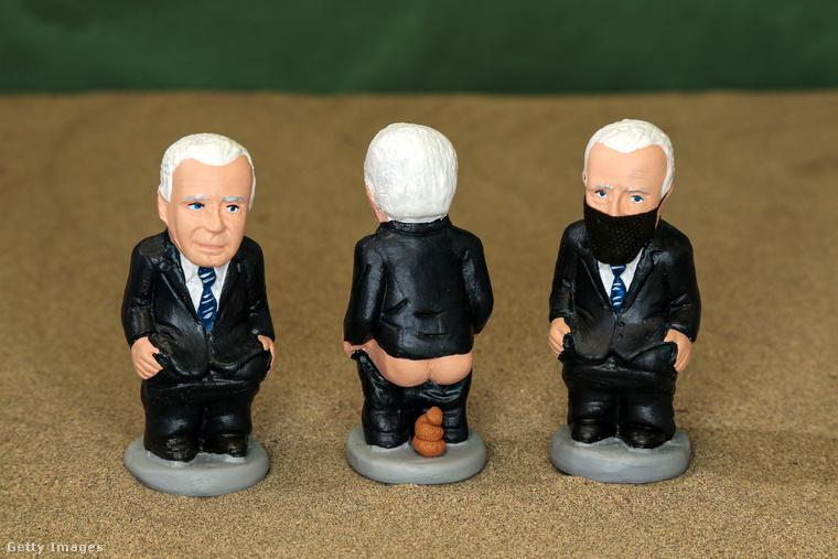 Joe Bidenről is készült caganer-figura, ha valaki úgy érezné, hogy ő az, aki nem hiányozhat a karácsonyi betlehemes jelenetből.