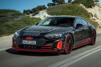Megint megvillantották az elektromos csúcs-Audit