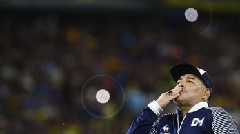 Maradona hamarosan elhagyhatja a kórházat