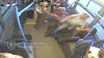 Felkavaró felvétel a BKV járatán kitört verekedésről