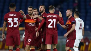 A Roma és a Tottenham is nyert az Európa-ligában