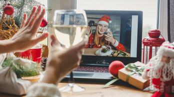Online állásinterjúk után jönnek az online karácsonyi partik