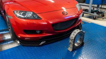Totalcar Erőmérő: Mazda RX-8 – 2004.