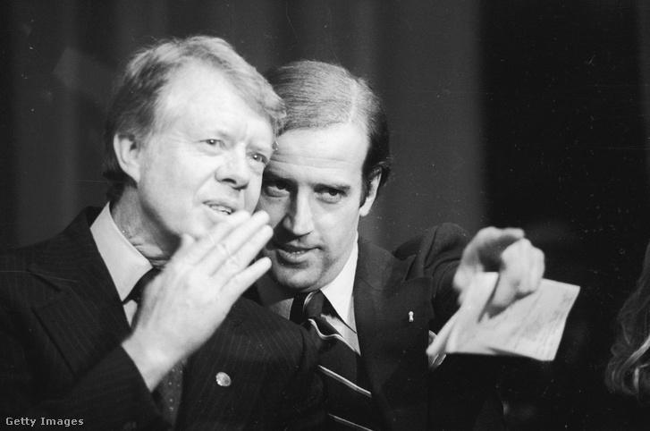 Jimmy Carter és Joseph Biden 1978-ban