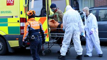 Belgiumban a halálozások megkétszereződtek, miközben a fertőzések száma csökkent