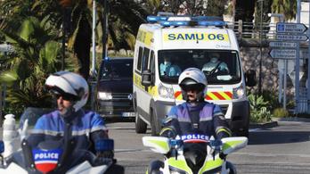 A nizzai merénylőt egy párizsi kórházba vitték