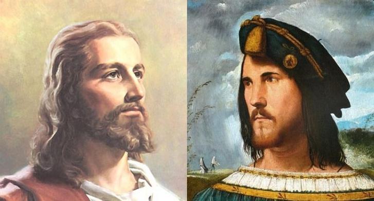 Jézus és Borgia reneszánsz festményei állítólag nem véletlenül hasonlítanak ennyire: Jézust Cesare-ról mintázhatták