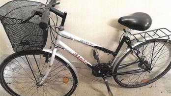 Lehet, hogy az ön kerékpárját találták meg a rendőrök?