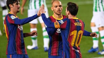 Megtört a jég, Messi megszerezte szezonbeli első akciógólját