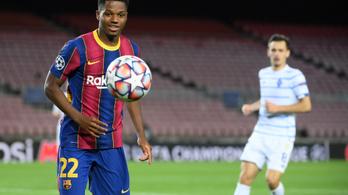 Megsérült a Barcelona fiatal sztárja
