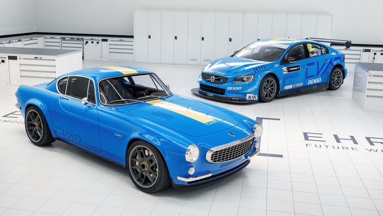 Klasszikus Volvo kupé versenytechnikával
