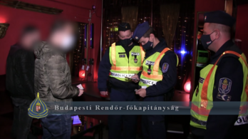 BRFK: kilenc üzletet bezártak az éjjel a maszkszabályok miatt