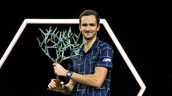 Medvegyev nyerte a párizsi tenisztornát