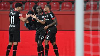 Hétgólos meccsen verte a Leverkusen a Mönchengladbachot