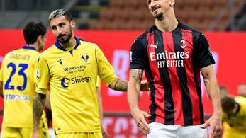 A hosszabbításban harcolta ki a döntetlent a Milan