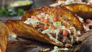 Ezek a keto tacohéjak bármilyen aromás sajttal készülhetnek