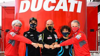 Az Avintia Ducati leigazolta Marinit és Bastianinit