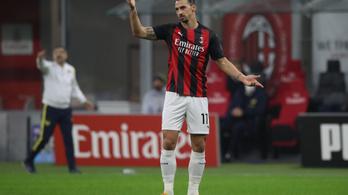 Zlatan Ibrahimovic legközelebb nem lő tizenegyest