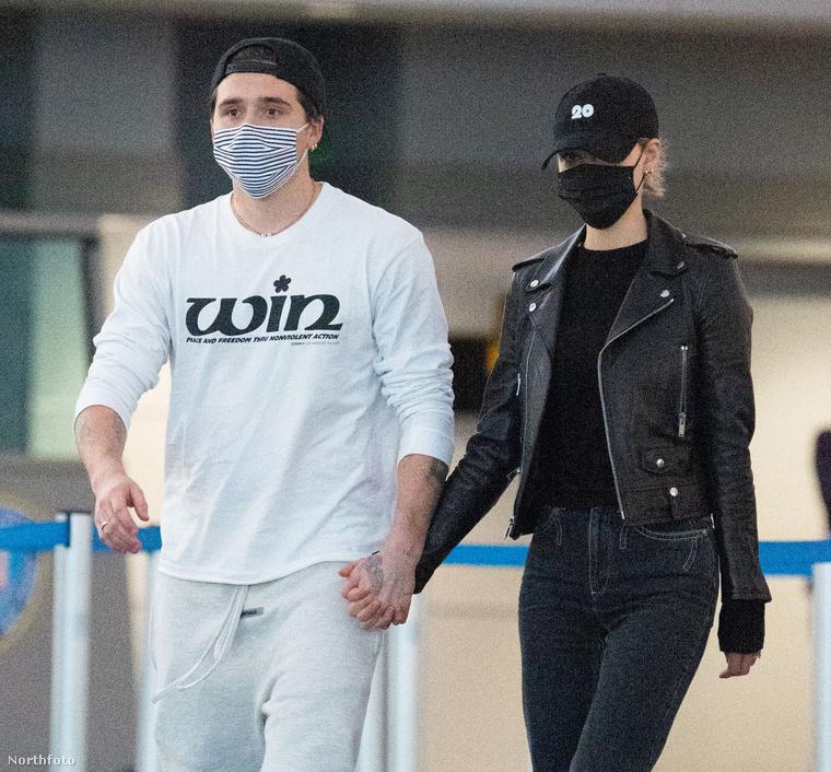 Szóval ők Brooklyn Beckham és Nicola Peltz