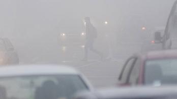 Országszerte tovább nőtt a légszennyezettség a magas szállópor-tartalom miatt