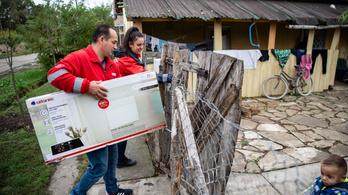 Új naperőmű nyomja a meleget 300 kisgyereknek Tiszabőn