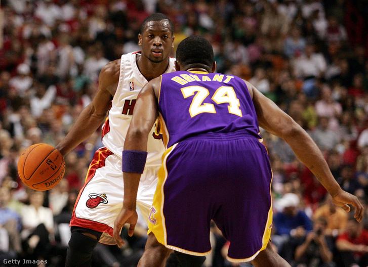 2006 karácsonyán Kobe Bryant sem tudta megállítani Dwyane Wade-et