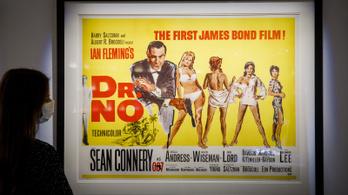 Elárverezik a pisztolyt, amit az első James Bond-filmben használt Sean Connery