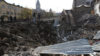 Közelednek Hegyi-Karabah központjához az azeri erők